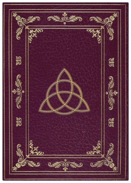 Wiccan Journal notesbog, skyggebog, wiccansk