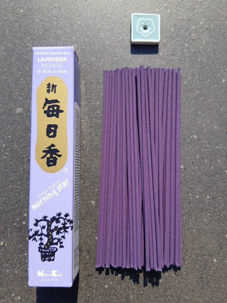 Lavender røgelsespinde, Lavendar incense