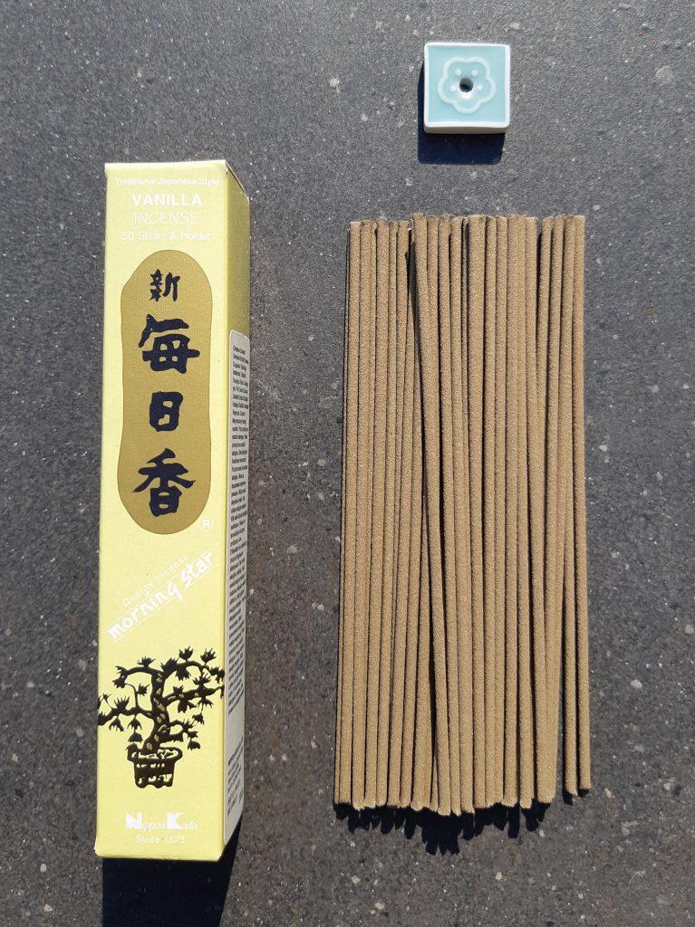 Vanilje røgelse, vanilla incense