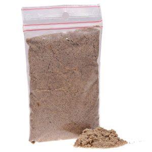 Lille pose med sand