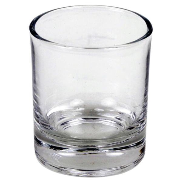 Glas til fyrfadslys - neutral