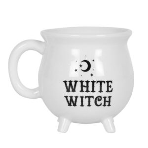 Cauldron Mug - White Witch