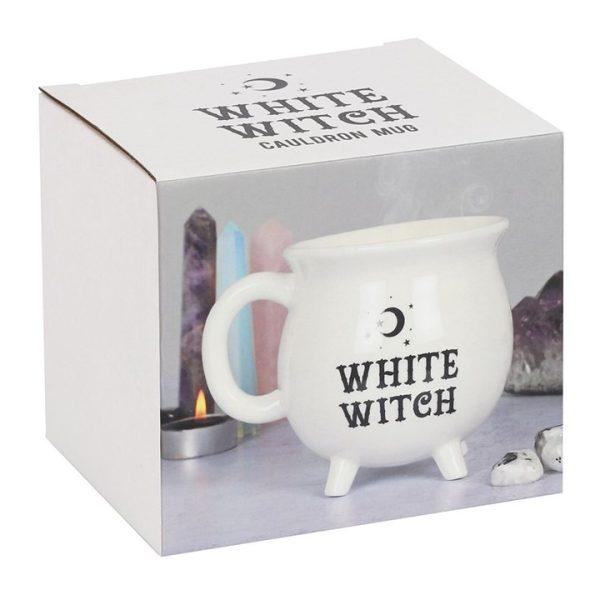 Cauldron mug - White Witch