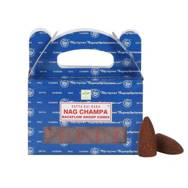 Backflow - Nag Champa røgelsestoppe