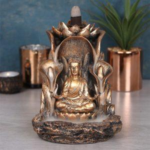 Buddha Backflow Røgelsesholder