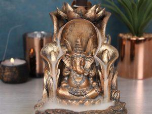 Ganesh Backflow Røgelsesholder