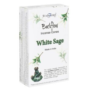 Backflow - White Sage røgelsestoppe