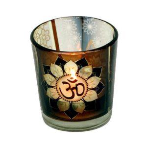Glas til fyrfadslys - Ohm