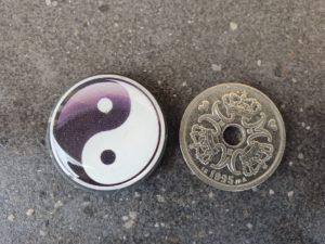 "Shungit ""Yin og Yang"""