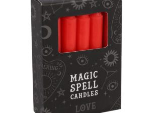 Magic Spell Candles – rød