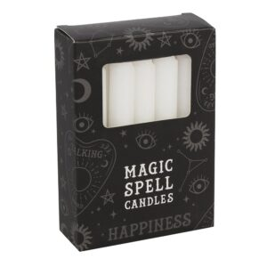 Magic Spell Candles - hvide