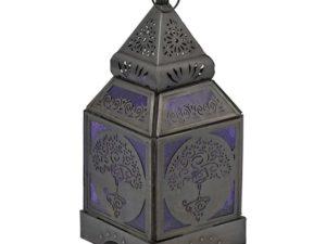 Orientalsk Lanterne med Yoga Tree
