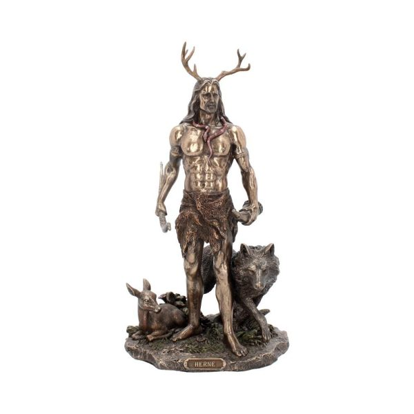 Herne and animals Figur