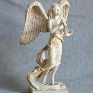 Ærkeenglen Gabriel med trompet