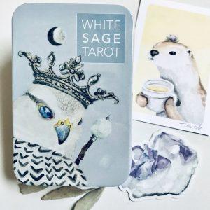 udvidede resultater, når der søges efter White Sage Tarot på google