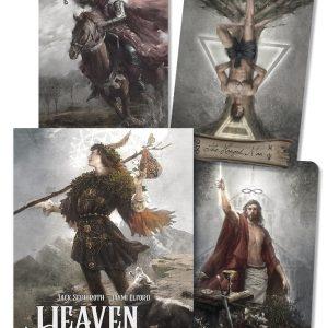 Udvidede resultater når der søges på Heaven and Earth Tarot på google