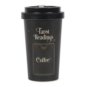 Udvidede resultater når der søges på Tarot Travel Mug på google
