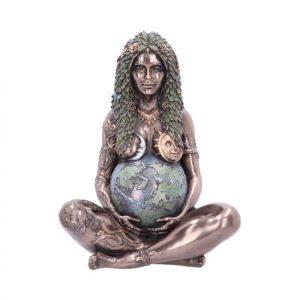 Udvidede resultater på google, når der søges efter Moder Jord (bronze) 30 cm.